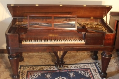 This 1858 Square Piano is one of the oldest I have restored.