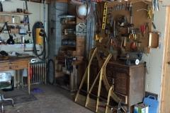 Second floor work area