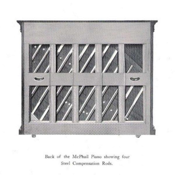 McPhail 1912 catalogue Compensation Rods.
