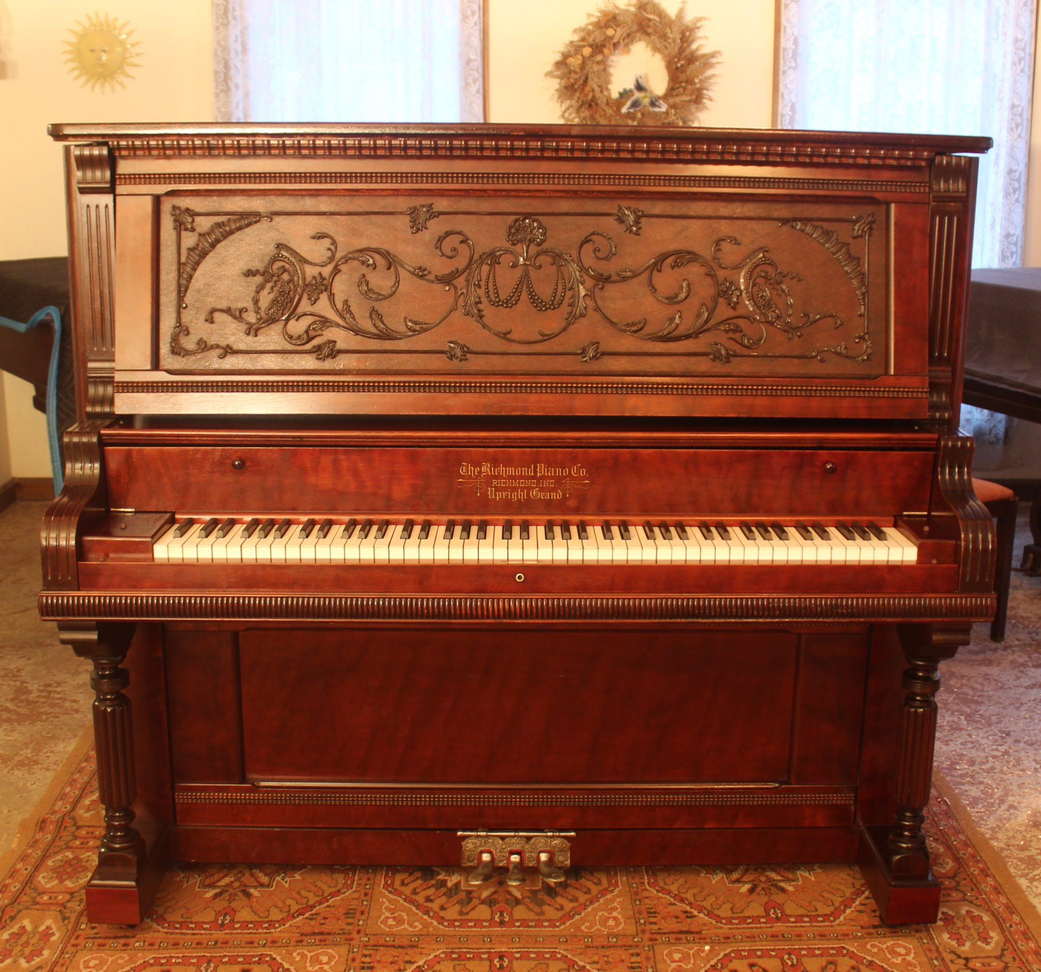 Richmond Upright Serial 24200 1900 Young S Piano Shop